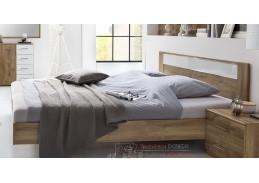 PAMELA 351, postel 160x200cm, divoký dub