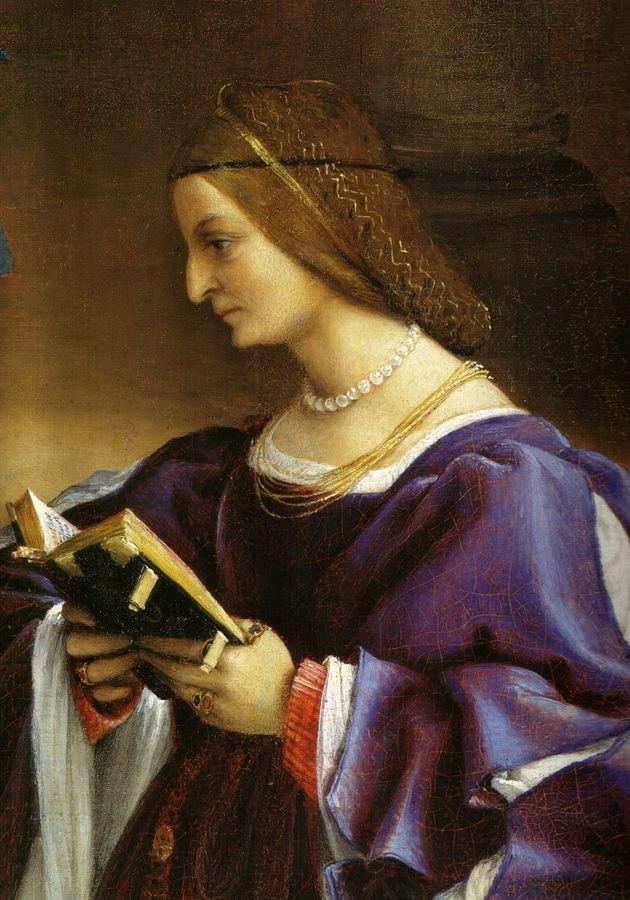 VLL 41 Lorenzo Lotto - Rozloučení Krista s Marii