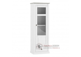 LIONA LM11, vitrína, bílá