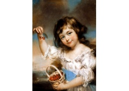 VANG104 John Russell - Dívka s třešněmi