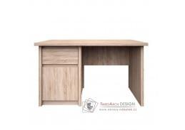 NORTY 12, počítačový stůl 1D1S/120, dub sonoma
