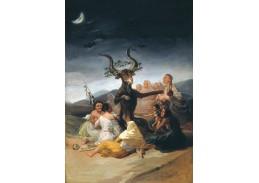 Slavné obrazy XVII-100 Francisco de Goya - Sabbath