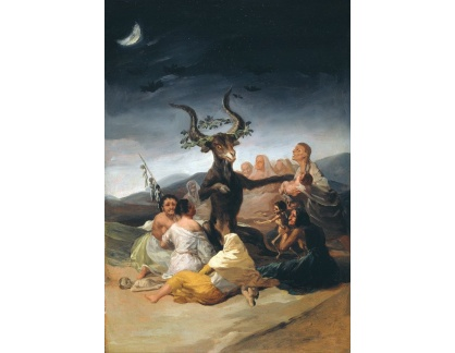 SO XVII-100 Francisco de Goya - Sabbath
