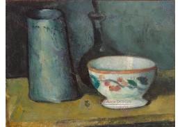 D-6531 Paul Cézanne - Mísa, konev na mléko a láhev