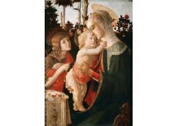 R17-24 Sandro Botticelli - Madonna mezi růžemi