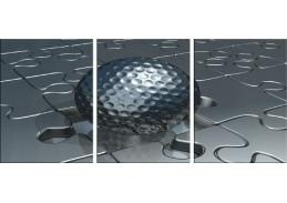 Obraz - Triptych 3D-1