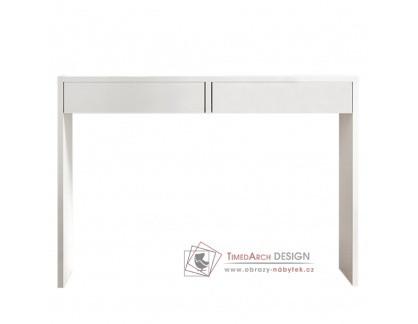 VIOLET, toaletní stolek - psací stůl, bílá