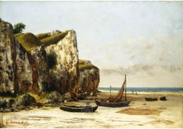 D-7251 Gustave Courbet - Plář v Normandii