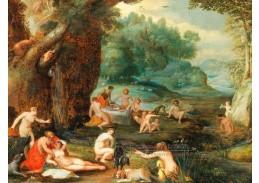 D-9725 Adriaen van Stalbemt - Krajina s koupacími se vílami