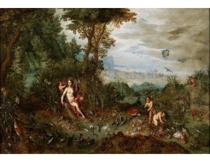 Slavné obrazy IX DDSO-735 Jan Brueghel - Alegorie vody