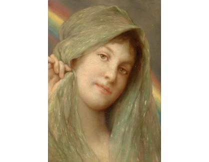 Slavné obrazy XVII-203 Gabriel Ritter von Max - Po dešti přichází slunce