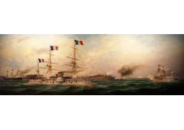 D-6418 Édouard Adam - Eskadra admirála Courbeta