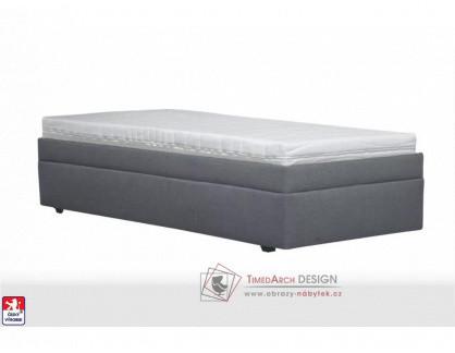 PLUTO, postel 90x200cm, volně ložená matrace