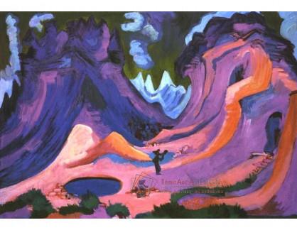 VELK 17 Ernst Ludwig Kirchner - Na Amselfluh