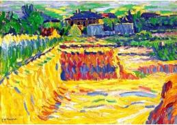 VELK 108 Ernst Ludwig Kirchner - Hlíněná jáma
