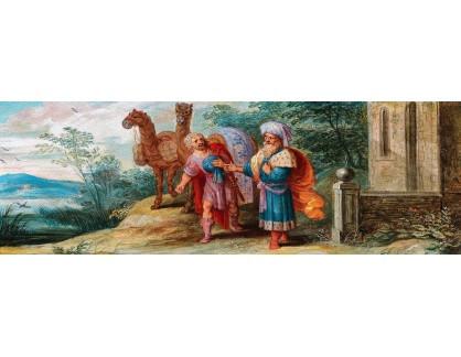 VP380 Frans Francken - Sbližování Jákoba a Ezau