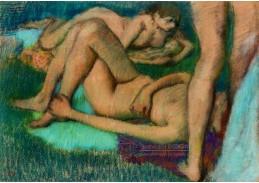D-7115 Edgar Degas - Koupání
