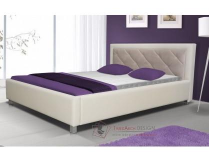 Čalouněná postel 160x200 cm LUBNICE VI
