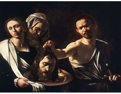 VCAR 12 Caravaggio - Salome s hlavou Jana Křtitele