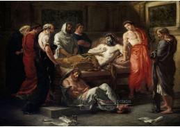 VEF 10 Eugene Ferdinand Victor Delacroix - Poslední slova císaře Marka Aurelia