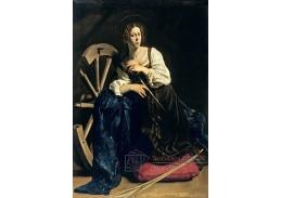 SO VII-50 Caravaggio - Svatá Kateřina Alexandrijská