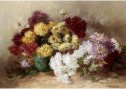 Krásné obrazy VI-102 Neznámý autor - Zátiší s květinami