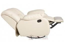 RONALD PLUS BLOCK KAB, křeslo relaxační, výběr čalounění kůže + ekokůže