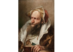 D-6062 Giovanni Battista Tiepolo - Portrét starce