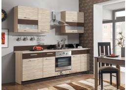 MODENA LTD, kuchyň s pracovní deskou 240cm, výběr provedení