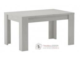 KORA 160, jídelní stůl rozkládací, jasan bílý