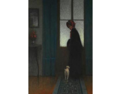 Jakub Schikaneder - Dáma se psem