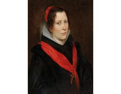 Slavné obrazy I-DDSO-33 Anthony van Dyck - Portrét ženy