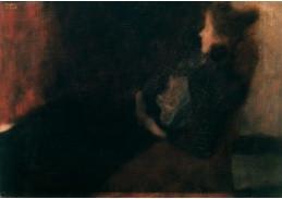 D-9410 Gustav Klimt - Dáma u krbu