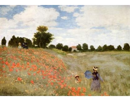 VCM 13 Claude Monet - Vlčí máky