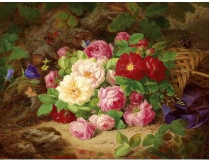 KO III-238 Josef Lauer - Zátiší s květinami