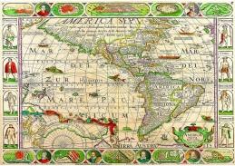 Obraz mapa VM 100
