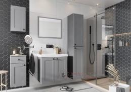 STRADONE, koupelnová sestava nábytku, šedá