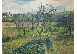 D-6143 Camille Pissarro - Zahrada ve Val Hermé