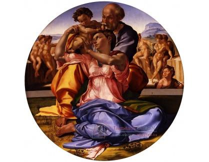 VR5-9 Michelangelo Buonarroti - Tondo Doni