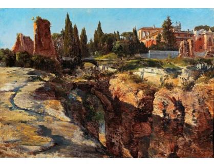 Slavné obrazy III-DDSO-558 Edward Theodore Compton - Císařský palác