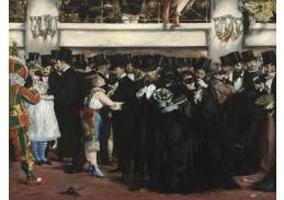 D-8130 Édouard Manet - Maškarní ples v opeře
