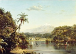 Obraz VSO 716 Frederic Edwin Church - Na řece Magdaléna