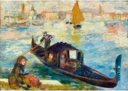 DDSO-4122 Pierre Auguste Renoir - Grand Canal v Benátkách