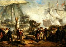 D-9430 Hendrik Frans Schaefels - Lord Nelson v bitvě u Trafalgaru