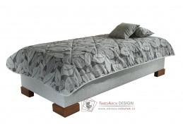 QUATRO, čalouněná postel 80x200cm, bez čel
