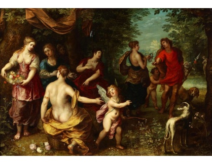 DDSO-747 Jan Brueghel a Hendrick van Balen - Venuše a Adonis