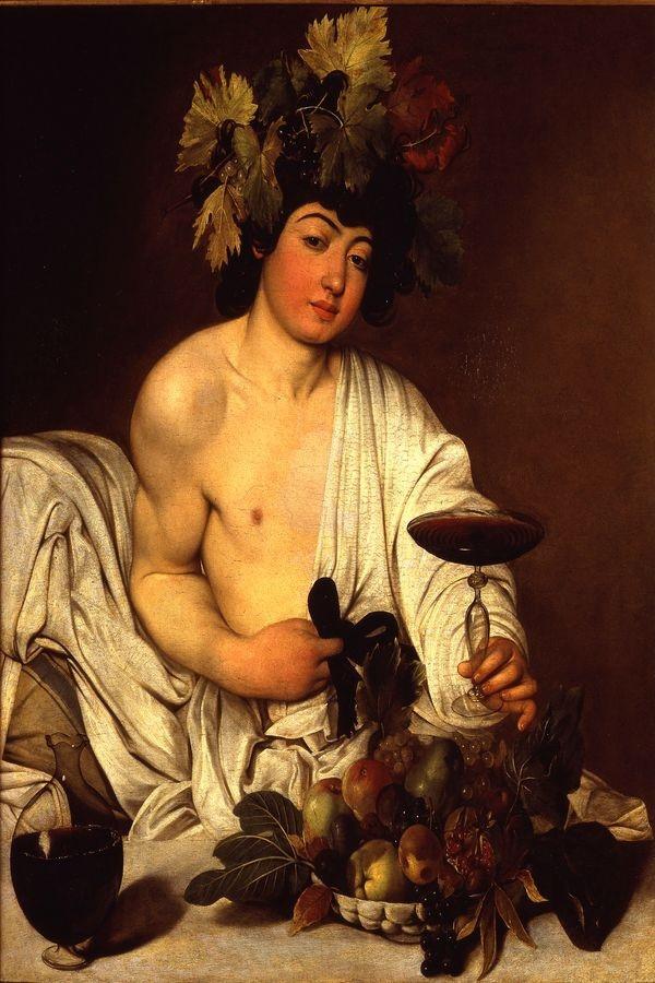 VSO 289 Caravaggio - Dospívající Bacchus