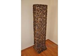 Lampa ratanová vysoká bambus