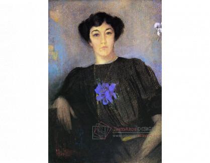 VOR 134 Odilon Redon - Portrét ženy Gustava Fayeta