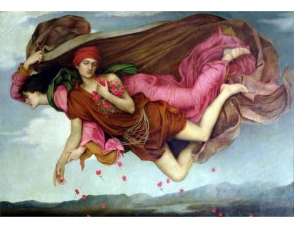 Krásné obrazy I-113 Evelyn De Morgan - Noc a Spánek